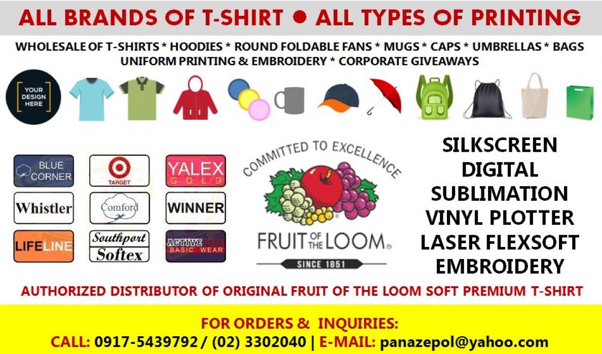 Fruit Of The Loom Soft Premium T Shirt Panazepol Enterprises